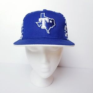 Texas Rangers Baseball New Era Hat Cap
